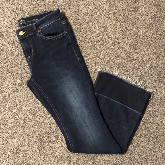 NEW YORK & COMPANY Women's Cropped Flare Jeans
